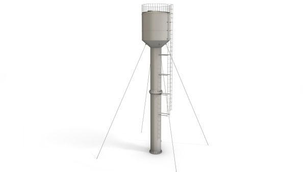 Башня водонапорная 25м³