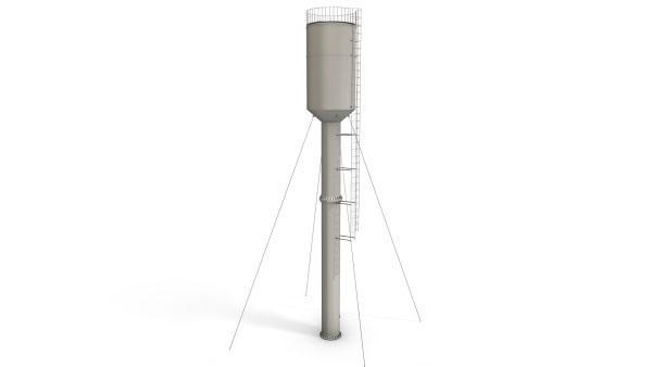 Водонапорная башня 50м³