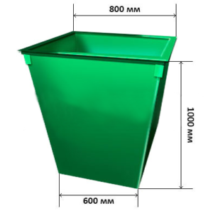 Контейнер для мусора 0,6м