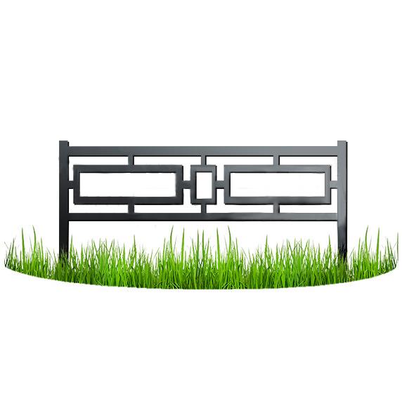 Металлический забор 1
