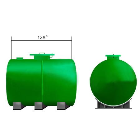Емкость для воды 15 кубов