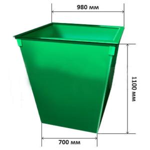 Контейнер для мусора 1