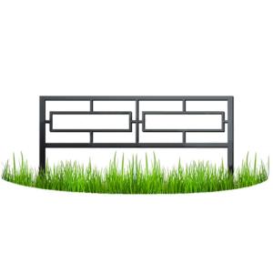 Металлический забор - узор №14