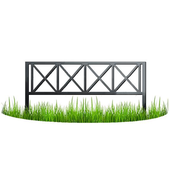 Металлический забор 2