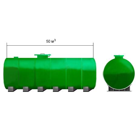Емкость для воды 50 кубов